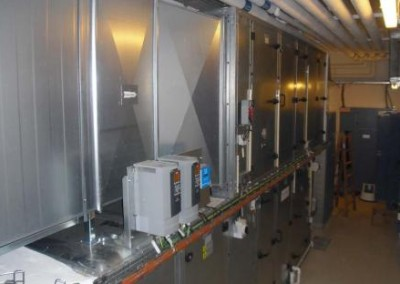 orv har bygget ventilation på aarhus universitetshospital