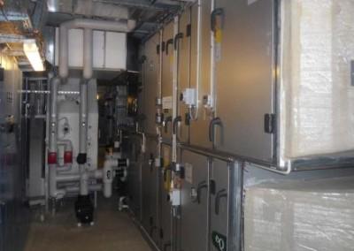 Ventilationsanlægget på aarhus universitetshospital
