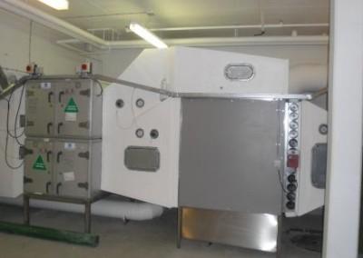 Ventilationssystem på aarhus universitetshospital