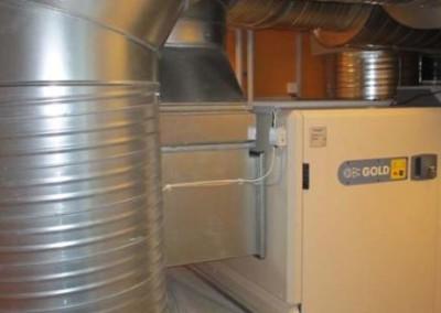 ventilationsrør i sølv